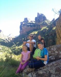 mountain family