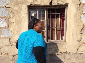 Jabu talking through her window