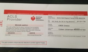 My ACLS card! ;-)