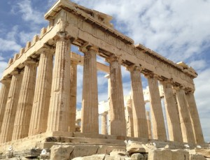 The parthenon.  My son would have soooo loved this tour!