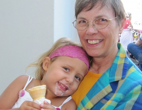 Introducing grandparents to the joys of South Africa - including ice cream on hot days!