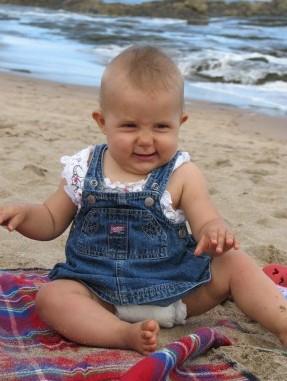 Beach baby!!