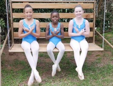 Ballet posing