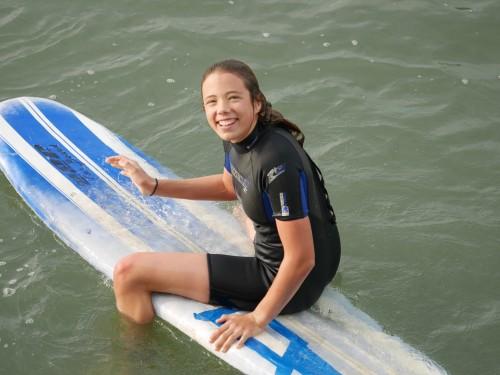 My little surfer girl