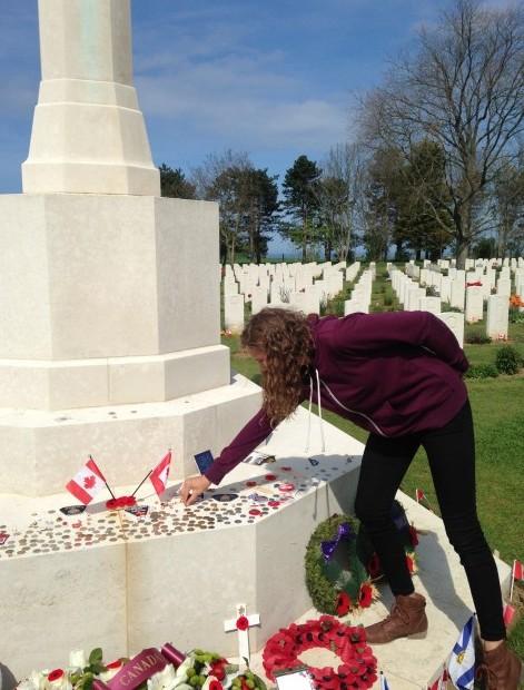Honouring those fallen...