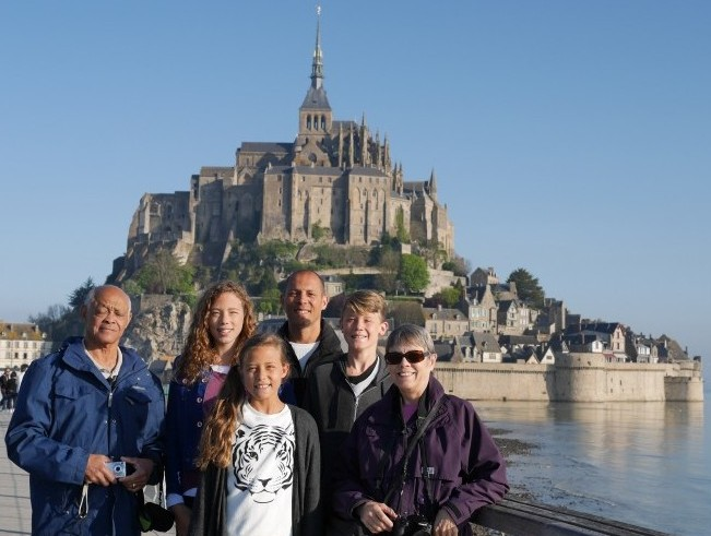 One of the most beautiful places we have ever experienced!  Mont St. Michel...