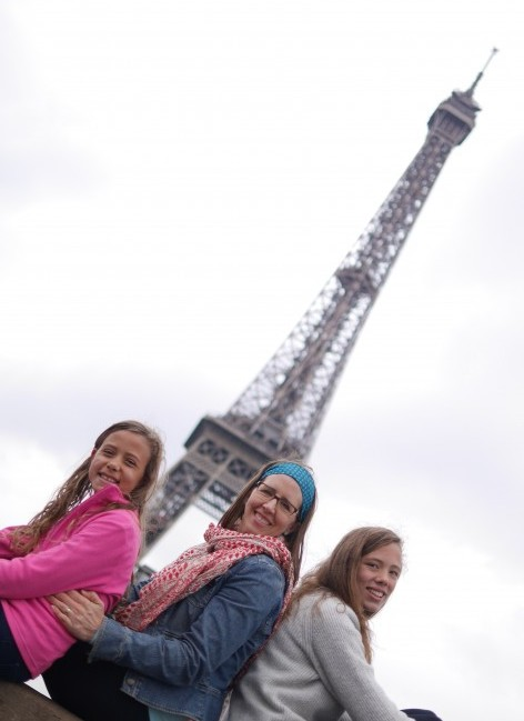 Photo shoot in front of the Eiffel Tower - a MUST if you visit Paris!