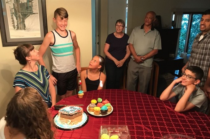 We celebrated Nate turning 12!!!  That wasn't so mundane!!!!