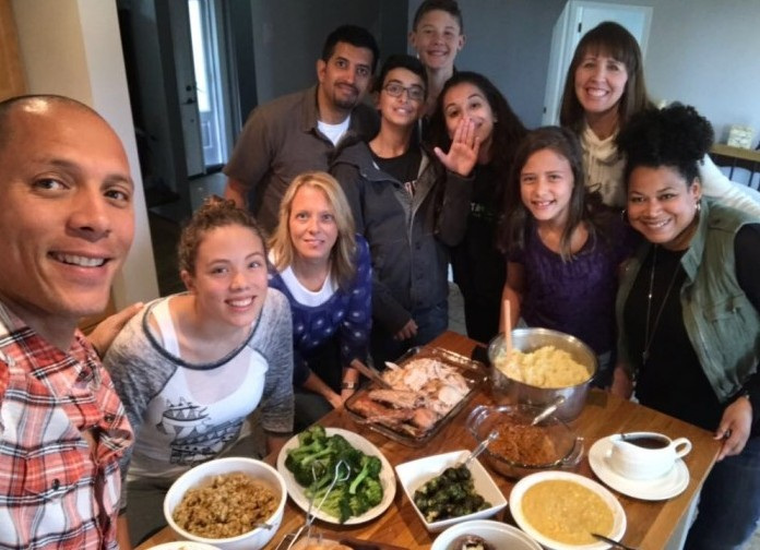 And Thanksgiving 2017!!  So much goodness - food and friends!