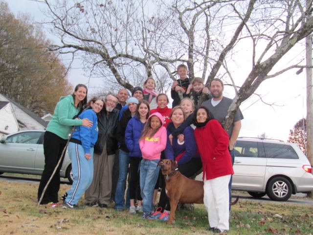 This one actually took place ON American Thanksgiving in America! :-)  With my beautiful family!!