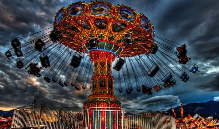 No carnival ride